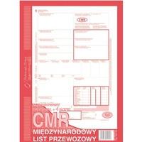 800-2N CMR A4 80kartek 1+4 numerowany międzynarodowy list przewozowy M&P