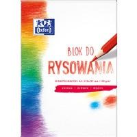 Blok rysowania OXFORD A4 20k 120G biały 400093195