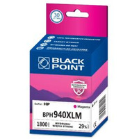 Tusz BLACK POINT (BPH940XLM) purpurowy 1800str zamiennik HP (940XL/C4908AE)