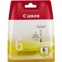 Tusz CANON (BCI-6Y/4708A002) żółty 210str IP3000/4000/5000