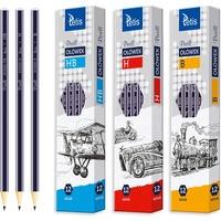 Ołówek PIXELL heksag. 3H (12) KV060-H3 TETIS