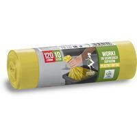 Worki do seg.odp.plast.i metal żółte LDPE 120l (10 szt.) ANNA ZARADNA 7