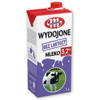 Mleko WYDOJONE UHT bez laktozy 3,2% 1l