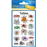 Naklejki tatuaże dla dzieci PAJĄKI 56693 Z-DESIGN KIDS TATTOO AVERY ZWECKFORM