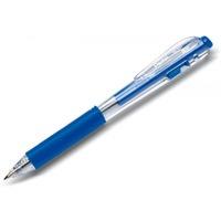Długopis PENTEL BK437 z gumowym uchwytem automatyczny niebieski