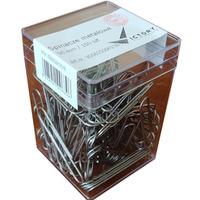 Spinacze metalowy 50mm (100szt.) pudełko plastikowe VO660506H100-99 VICTORY
