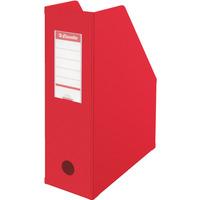 Pojemnik składany A4 100mm czerwony ESSELTE PVC 56073