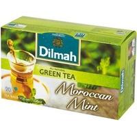 Herbata DILMAH (20 torebek) zielona z liśćmi mięty MOROCCAN GREEN TEA