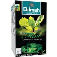 Herbata DILMAH (20 torebek) czarna z aromatem mięty 30 g