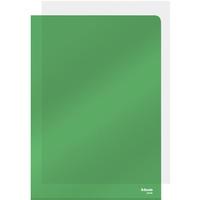 Ofertówki krystaliczne A4 150mic (25szt) zielone 55436 ESSELTE