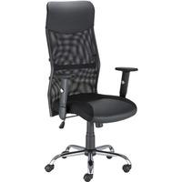 Krzesło obrotowe HIT R 300 czarne (regulowane podłokietniki) NOWY STYL