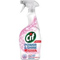 Spray CIF antybakteryjny 750ml do czyszczenia powierzchni POWER & SHINE