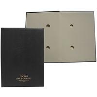 Teczka do podpisu 10k czarna WARTA grzbiet kryty 1824-920-013