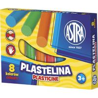 Plastelina 8 kolorów 83814902 ASTRA