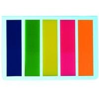 Zakładka indeksująca DATURA/NATUNA 45x12 5x25kartek neonowa prosta