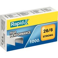 Zszywki 26/6 1000 RAPID stron 24861400