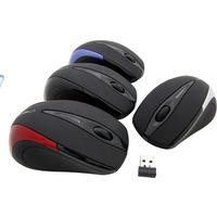 Mysz bezprzewodowa 24GHZ USB BLACK ANTARES ESPERANZA EM101K