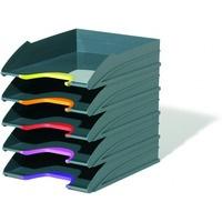 VARICOLOR zestaw 5 tacek na dokumenty Antracyt 770557 DURABLE