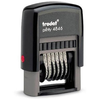 Numerator ręczny 4846 6/4mm TRODAT SAMOTUSZUJĄCY