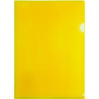 Obwoluta A4 PP L grubość 0.14mm żółta (12) BT615-Y