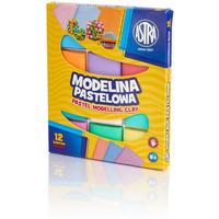 Modelina pastelowa Astra 12 kolorów 304118007 ASTRA