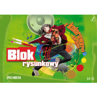 Blok rysunkowy kolorowy A4 30k PREMIUM KRESKA
