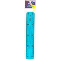 Linijka elastyczna 20cm niebieska SSC013 STRIGO
