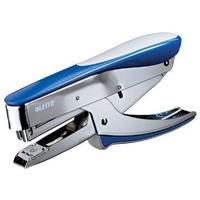 Zszywacz nożycowy metaliczny niebieski (No 10) 15 kartek 55450033