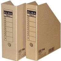 Pojemnik na czasopisma A4 10cm brązowy TRIC 100552612 ELBA
