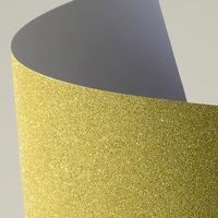 Arkusz samoprzylepny brokatowy złoty A4 (10) 150g/m2 254010