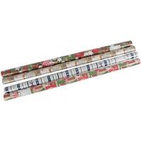 Papier w rolce ozdobny 2/0, 7m świąteczny HERLITZ 0009570839