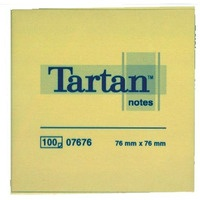 Bloczek samoprzylepny TARTAN 76x76 07676 FT510001843 3M