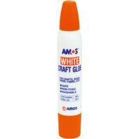Klej w płynie biały 34ml/36g AMOS WCG34D12 130-1488