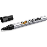 Marker permanentny PRO czarny ścięta końcówka 964802 BIC