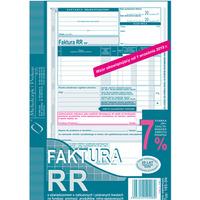 185-3N Faktura VAT RR A5 80kartek MICHALCZYK i PROKOP