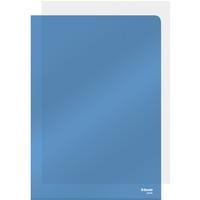 Ofertówki krystaliczne A4 150mic niebieskie (25szt) ESSELTE 55435
