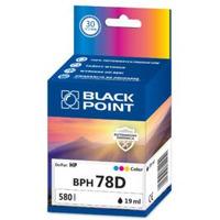 Tusz BLACK POINT (BPH78D) kolor 19ml zamiennik HP (78/C6578D) DJ920/930/940/970/980