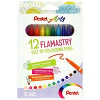 Flamastry Arts 12kol. SCS-12 PENTEL