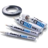 Marker X100WS biały PENTEL