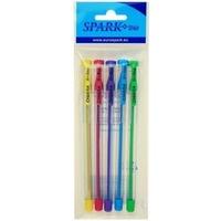 Długopis SPARK CHIARA 0, 7mm mix 5kolorów 1236