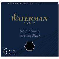 Naboje WATERMAN czarne krót.(6) 2052011 S0110940