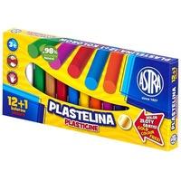 Plastelina 13 kolorów 12+1 kolor gratis 303115007 ASTRA