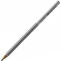 Ołówek JUMBO GRIP B czerwony do nauki pisania FC111921 FABER-CASTELL