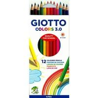 Kredki GIOTTO colors 3.0 12 kolorów 276600