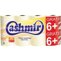 Papier toaletowy a2, 6+2 żółty 207158 CASHMIR