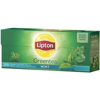 Herbata LIPTON GREEN MINT 25 torebek
