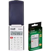 Kalkulator kieszonkowy TOOR TR-227 12-poz. z klapką 120-1857