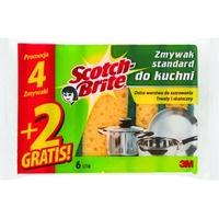 Zmywak SCOTCH-BRITE standard 4+2 gratis; UU009160365 3M