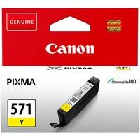 Tusz CANON (CLI-571Y/0388C001) żółty 323str