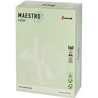 Papier xero A4 160g MAESTRO COLOR GN27 jasna zieleń pastel 250ark